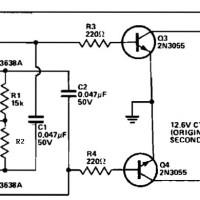 500W Power Inverter Circuit using Transistor 2N3055 ...