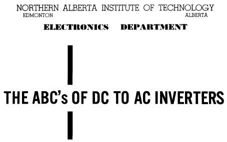 how to make inverter pdf