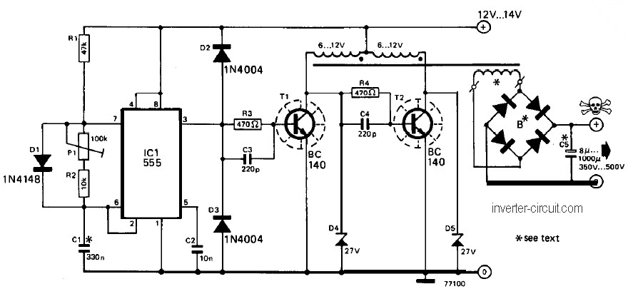 Small 12V Inverter Circuit Inverter Circuit and Products