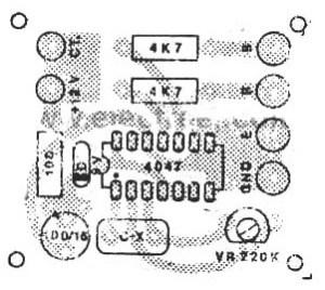 PCB design of inverter circuit