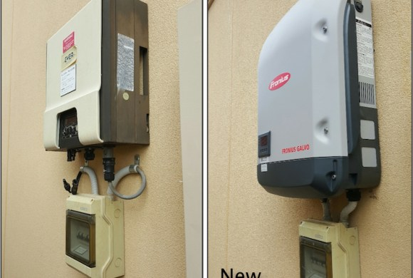 Another Eversolar Inverter Fails