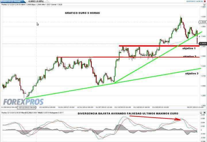 EURO-7-FEBRERO-2013-720x495% - Ni palabras de Draghi ni san Draghi, el euro tenía que corregir