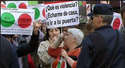 "escraches% - En bolsacanaria .info NO condenamos  los ""escraches"""
