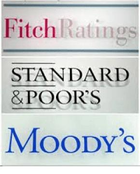 agencias-calificacion% - S&P ve quiebras en el otro lado del mundo y no en casa
