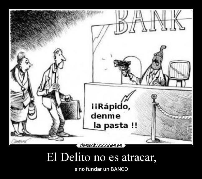 2020 el año en que los bancos atracan a sus clientes