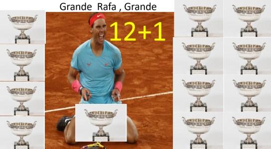 doce-mas-uno% - Rafael Nadal en el Olimpo de los dioses del Deporte