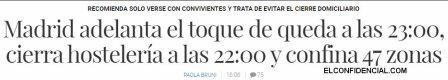 COVID-MADRID% - Gobierno y CCAA hacen aguas por todas partes