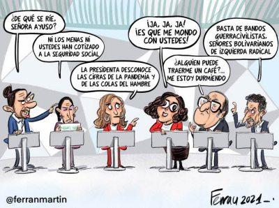 debate-telemadrid% - Humor salmón 23 de abril