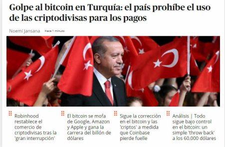 turquia-no-a-las-criptos% - Tras la india Turquía esta también prohíbe el libre uso de criptomonedas