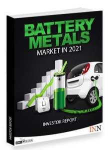 battery metals outlook report 2020