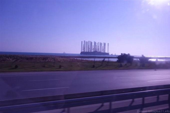 アゼルバイジャンの海上油田