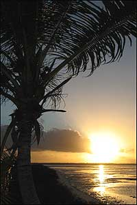 christmas island sun