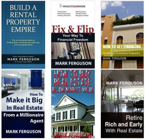 Real Estate Investment Books by Mark Ferguson