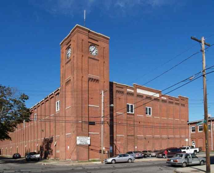 Uma das unidades têxtil da Berkshire, em New Bedford, Massachusetts