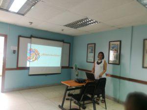 Dra. Francis González, Coordinadora de Promoción y Difusión