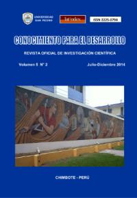 Revista Conocimiento para el Desarrollo V°5N°2 – Chimbote 2014