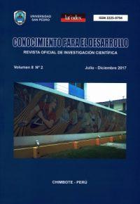 Revista Conocimiento para el Desarrollo V°8N°2 – Chimbote 2017