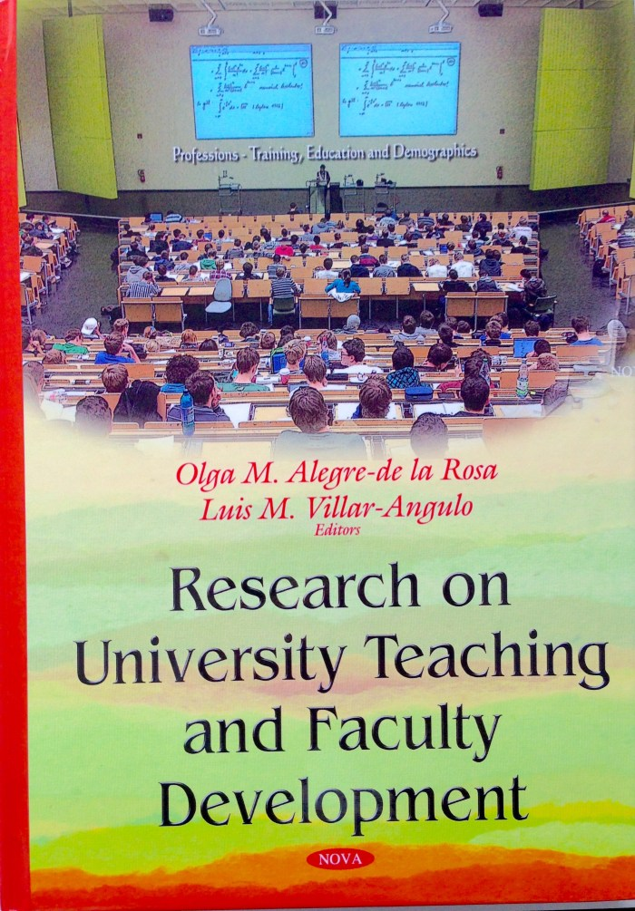 Research on University Teaching and Faculty Development