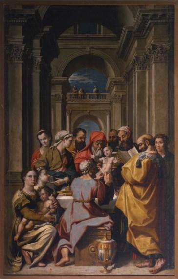 Cincinnato: Circuncisión, 1572-1573. Madrid, Real Academia de Bellas Artes de San Fernando.