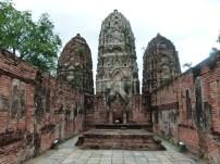 Vista de Wat Si Sawai, Sukhothai