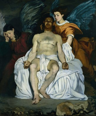Édouard Manet- Cristo muerto con ángeles