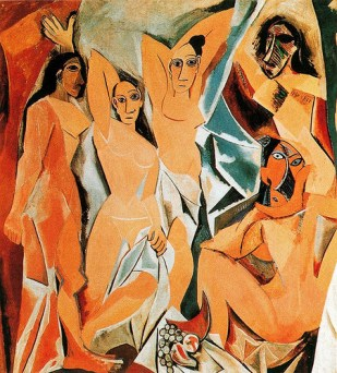 Pablo Picasso- Las Señoritas de Avignon