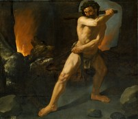Francisco Zurbarán: Hércules y el cancerbero. Museo Nacional del Prado, Madrid.