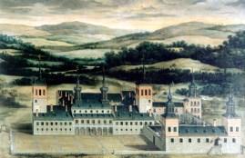 Anónimo madrileño: Vista del Palacio de Valsaín. Patrimonio Nacional.