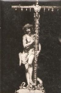 Antigua imagen del Cristo de las Victorias. Serradilla, Cáceres.