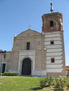Vista exterior de la Ermita de Nuestra Señora de los Ángeles.