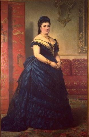 Federico de Madrazo: Retrato de María del Carmen Hernández Espinosa, I Marquesa de Manzanedo.