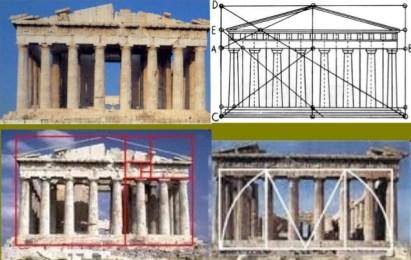 Aplicación de la proporción aurea en el Panteón de Grecia.