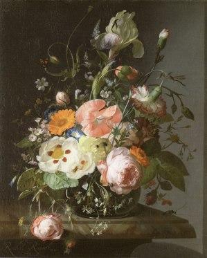 Rachel Ruysch: Florero. 1716.