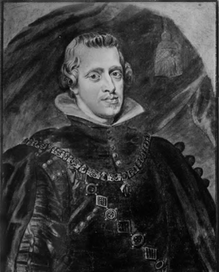 Paulus Pontius: Retrato de Felipe IV. Carboncillo y tinta. Viena, Albertina.