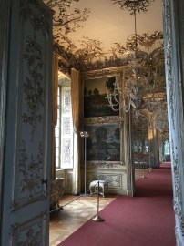 Vist en línea de varias de las estancias del Amalienburg.