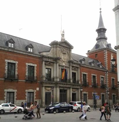 Alonso Covarrubias y Juan Gómez de Mora. Palacio Santa Cruz, antigua Cárcel de Corte (actual Ministerio de Asunto Exteriores) Madrid.