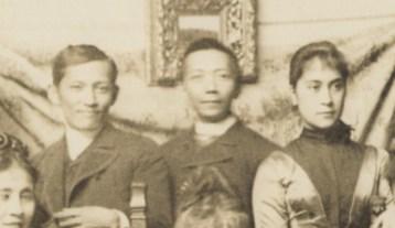 José Rizal y Félix Resurrección Hidalgo en París.