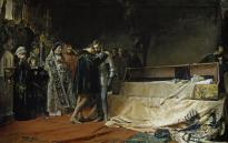 J. Moreno Carbonero: La conversión del duque de Gandía. 1884. Museo del Prado.