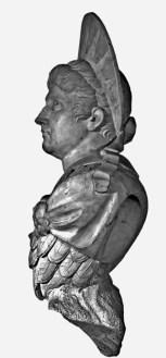 Valeriano Salvatierra: Cabeza del Emperador Claudio, mármol blanco. Madrid, Museo Nacional del Prado, nº inv. E-643.