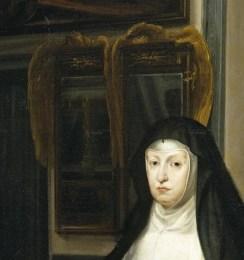 Juan Carreño de Miranda: Mariana de Austria en el Salón de los Espejos. Museo Nacional del Prado.