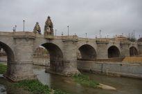 Puente de Toledo en Madrid. Foto: wikicommons.