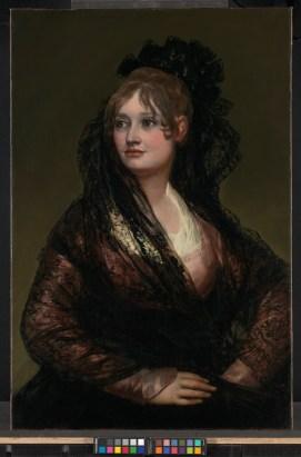 Federico de Madrazo?: Isabel de los Cobos Porcel. National Gallery, Londres.