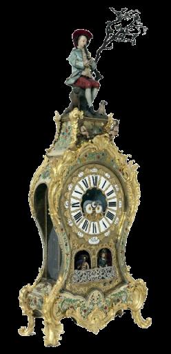Pierre Jaquet-Droz: Reloj del Pastor. Patrimonio Nacional, Madrid.