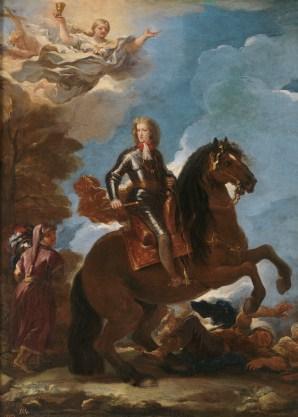Luca Giordano: Carlos II a caballo. Madrid, Museo Nacional del Prado.