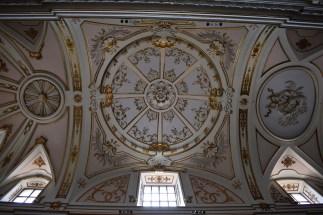 Detalle de las bóvedas. Cartuja del Paular