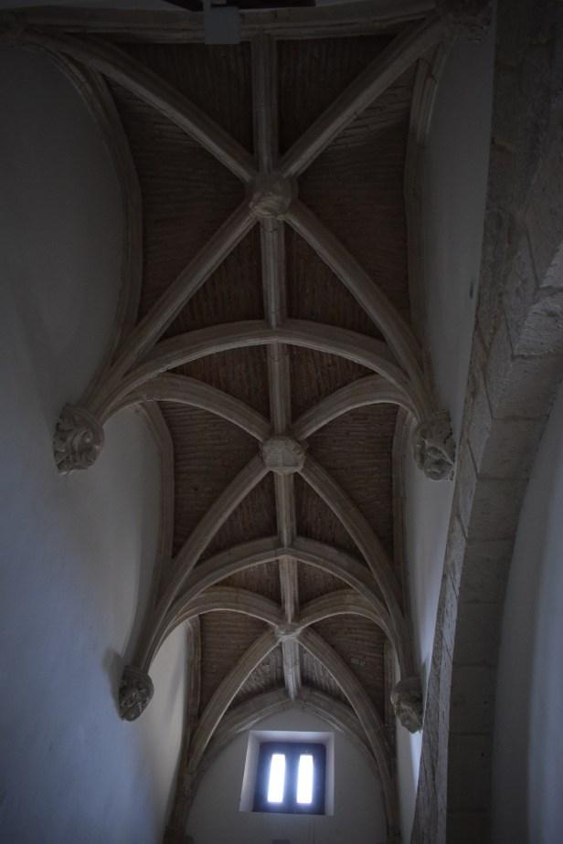 Galería gótica. Cartuja del Paular