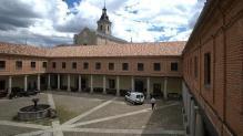 Patio del Ave María. Foto: ABC.