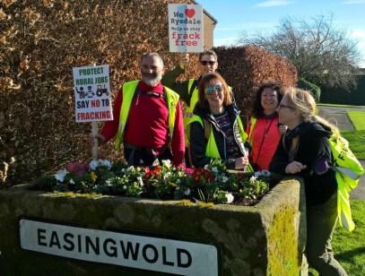 No fracking Way Easingwold day 1