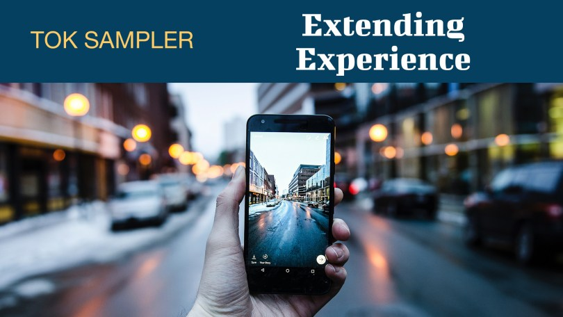 EXTENDING EXPERIENCE