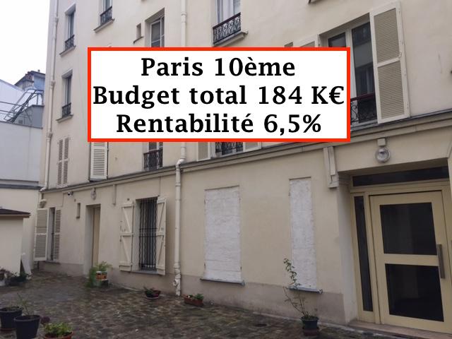 Ancienne loge de gardien Paris 10
